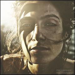 Aeon (Paolo Castronovo) Tags: sunset summer portrait woman sun sunlight 6x6 girl beauty face canon mediumformat square eyes blueeyes lips medium ritratti ritratto canon50mm18 500x500 beautyshoots paulinnaire