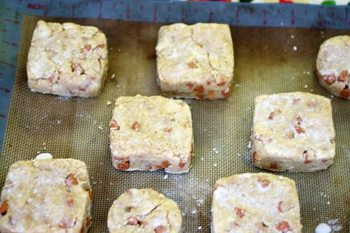 butterscotch scone dough