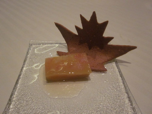Guy Savoy - Las Vegas - August 2011 Grapefruit Terrine with Gingerbread Cookie
