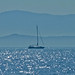 Greece - Blue, a misty morning sailing off the coast of Parga