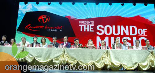 Sound of Music Presscon