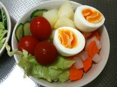 朝食サラダ(2011/9/12)