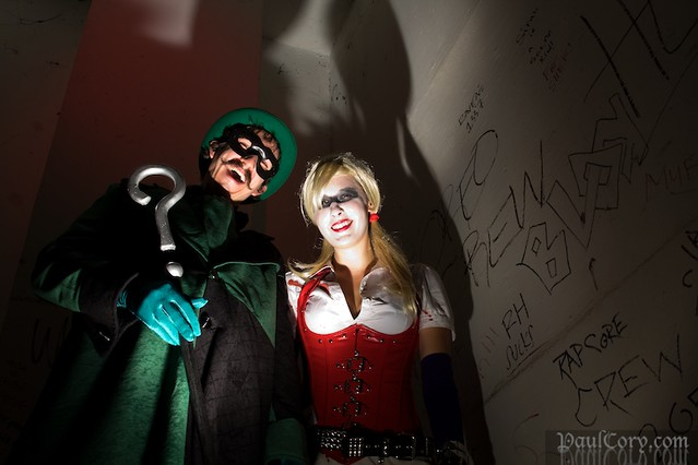 Riddler and Harley