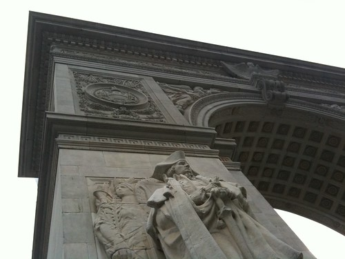 Washington Square Arch, renovated