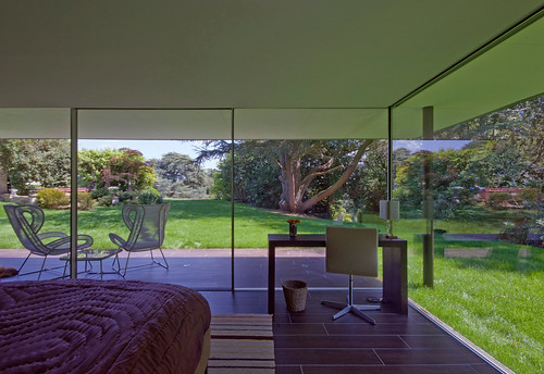 Capel Manor House, Guest Pavilion by Ewan Cameron Architects