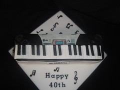 Awesome Cakes UK - Keyboard Cake (Awesome Cakes UK) Tags: weddingcakes noveltycakes sugarmodelling photocakes awesomecakesuk
