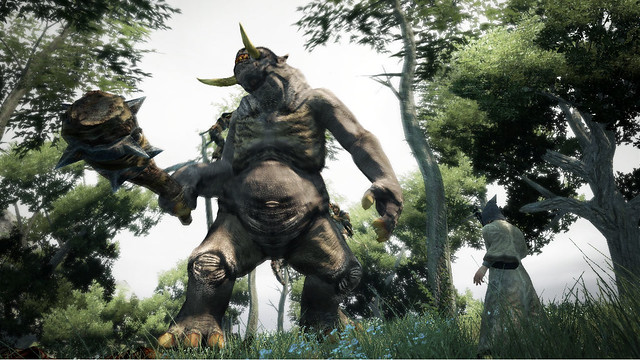 Shoot A Cyclops In Its One Eye In New Dragon's Dogma TGS Trailer (2)