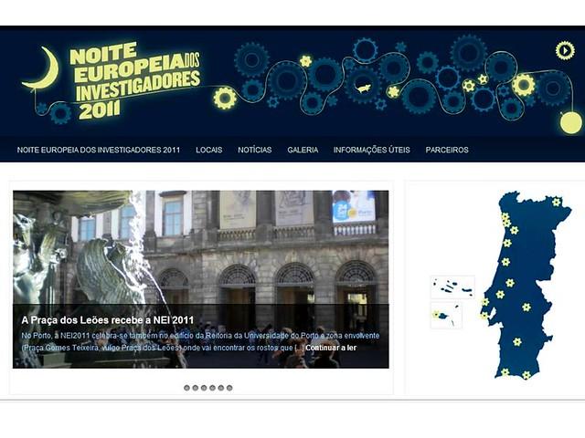 Noite Europeia dos Investigadores 2011