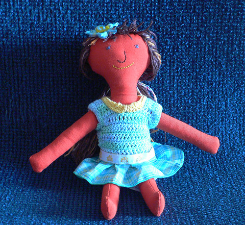 #36 Heart made doll from Mamima collection to Natália by mamima project