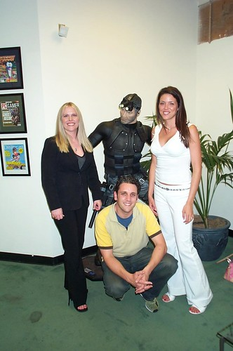 Amy, Nate Mordo, Me on Interview day