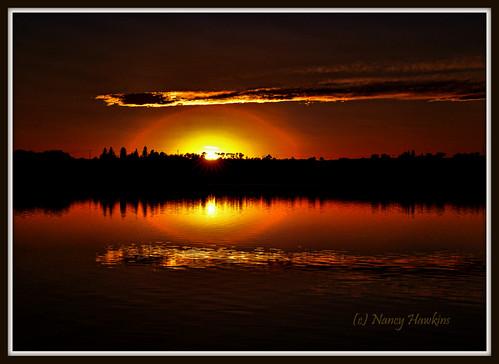 Sunset Glow by Nancy Hawkins