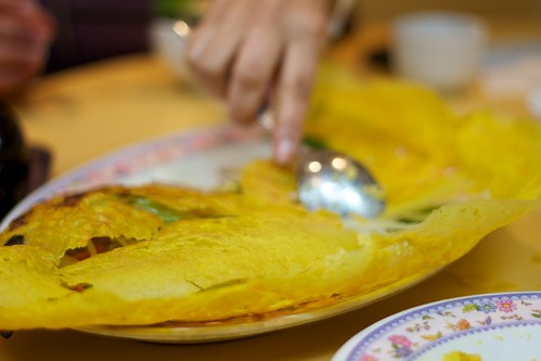 Vegetarian pancake