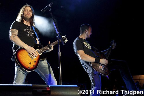Alter Bridge - 09-13-11 - Carnival Of Madness Tour, Time Warner Cable Uptown Amphitheatre, Charlotte, NC