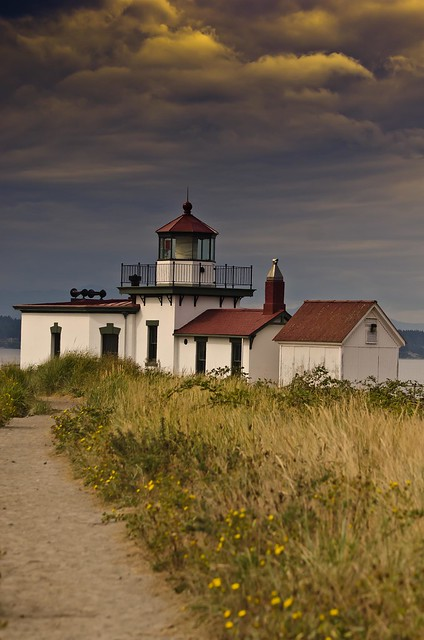 West Point USCG Lighthouse - Discovery Park, Seattle, WA