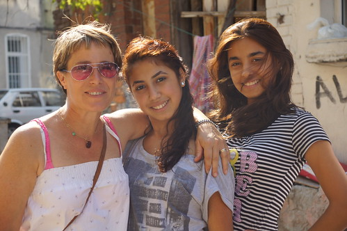 The beautiful gypsy women from Balat plus my sister Fiona by CharlesFred