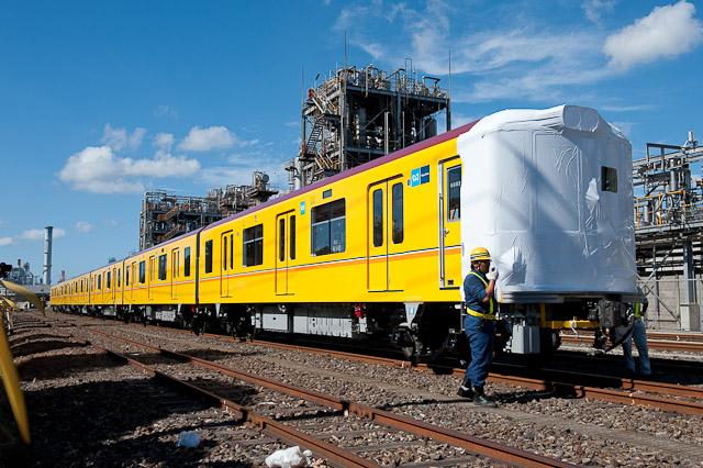 東京メトロ銀座線1000系 1101F