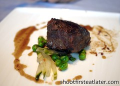 Tosca at the Ritz-Carlton Hong Kong- Braised Beef Cheeks, Parma Ham & Peas (Shoot First, Eat Later) Tags: hongkong hotel italianfood tallesthotel