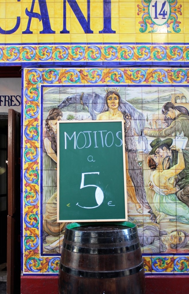 painted decorative tiles (madrid)