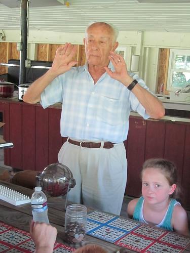 Grandad calling BINGO
