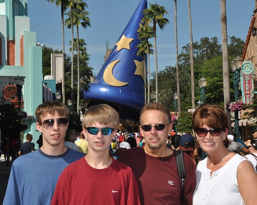 Family Shot - Hollywood Studios