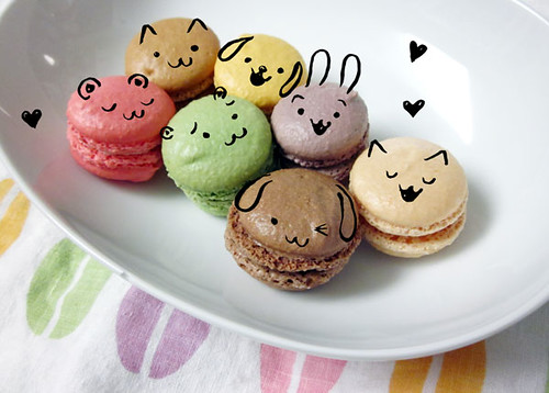 What I saw on my macarons!