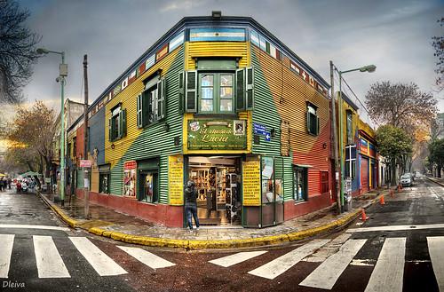 Barrio de La Boca / La Boca neighborhood (Buenos Aires, Argentina) by dleiva