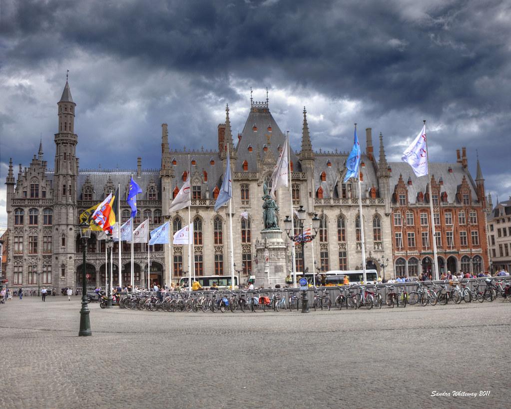 Market Square (Grote Market) of Bruges