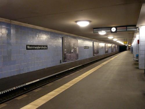 Berlin Weinmeisterstr. U Bahn