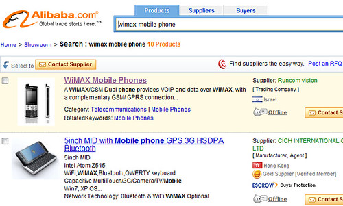 WiMAX·Mobile Phone
