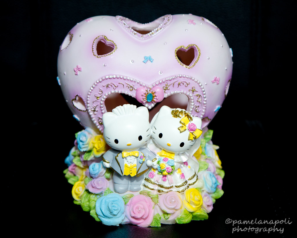 Hello Kitty and Dear Daniel Wedding Cake Topper +1 in Comments