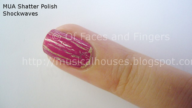 MUA Nail Quake Shockwaves Shatter Polish