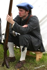 On the Eve of Battle (day_sargent) Tags: history scotland battle battlefield reenactment selkirk livinghistory warfare scottishborders sealedknot philiphaugh