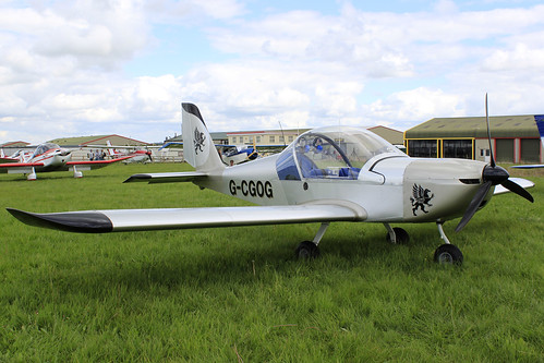 G-CGOG -  EV-97A EUROSTAR_  Dunkswell