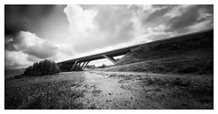 just a bridge (analoger2010) Tags: 120 holga pinhole uckermark lochkamera wpc