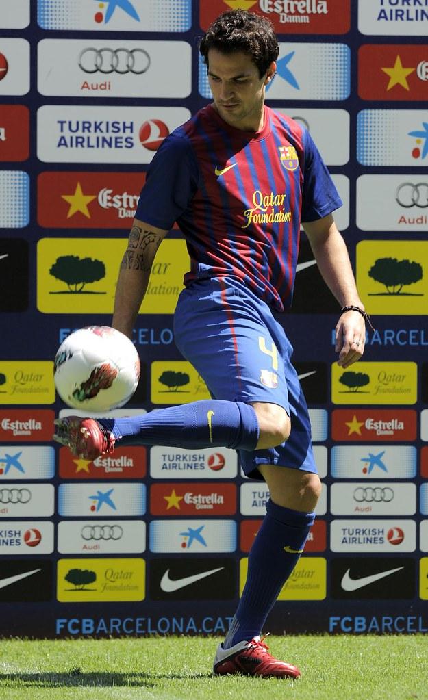 Cesc Fabregas di Barcelona