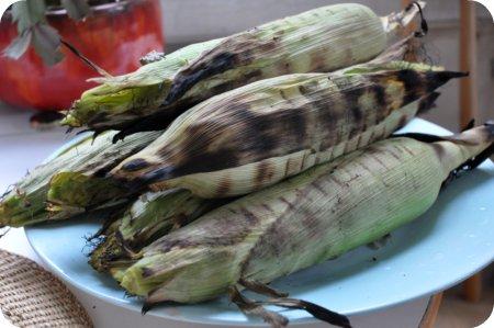 Roasted corn!