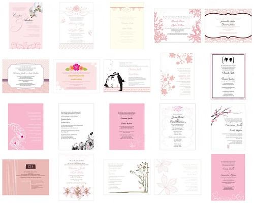 Pink Wedding Invitations Did you like this blog post Have more to add