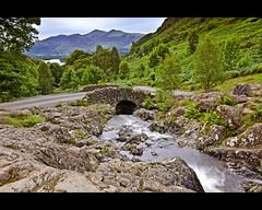 Ashness Bridge (John Ormerod) Tags: rocks stream lakedistrict cumbria derwentwater keswick ashnessbridge nikond7000