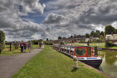 Trip on the Horse Drawn Barge (rosyrosie2009) Tags: uk england water photography flickr photos devon barge hdr towpath westcountry tiverton westernmorningnews photomatix carthorse tonemapped devonandcornwall grandwesterncanal d5000 rosiesphotos westernmorningview horsedrawnbarge nikond5000 tivertoncanal tamronspaf1024mmf3545diiildasphericalif rosiespooner rosyrosie2009 rosemaryspooner rosiespoonerphotography