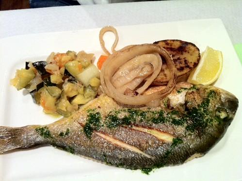 Fornells Menorca | Restaurante La Guapa | Lubina