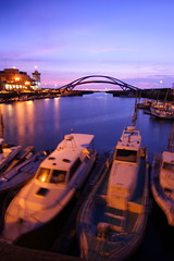 - Fishing Port (michaelrpf) Tags: longexposure sunset landscape taiwan resort  nightscene      fishingport  mygearandme mygearandmepremium