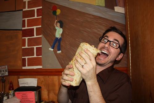 Eric's burrito
