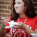 College of Design students enjoyed Howling Cow ice cream after their assembly.