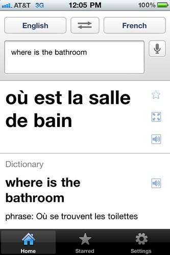 Google Translate: Where is the bathroom? by stevegarfield