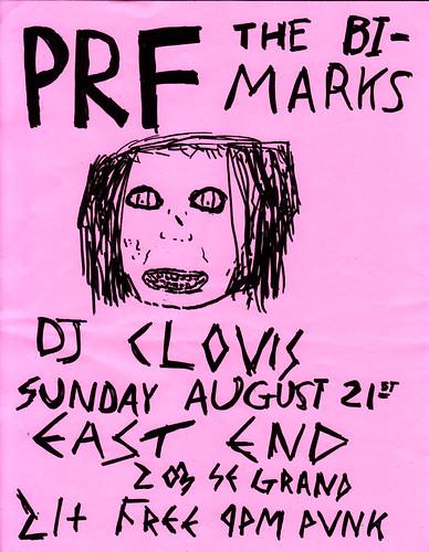 8/21/11 PRF/BiMarks