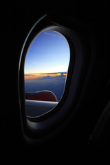 Next Journey (Sayid Budhi) Tags: sunset blur window framing a330 windowseat airasia xairasia thejourneystory