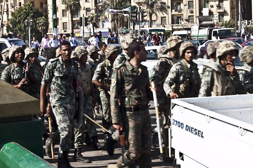 Tahrir Square Cleared by Military August 1