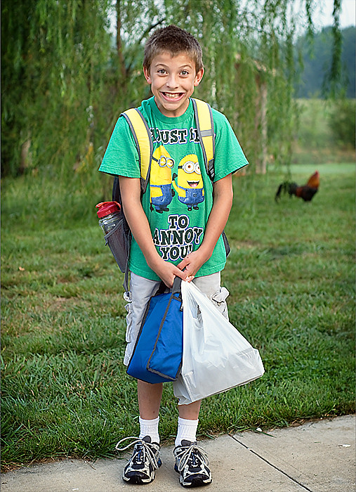 will's first day of school 2011  2