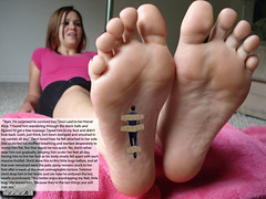 EvilGirl02 (gtsblade) Tags: feet socks foot sock squish crush giantess gts shrink shrunkenman
