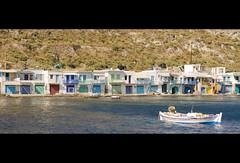 """Milos """"Villaggio dei pescatori"""" (Zani Samuele) Tags: canon 50mm mare barche case grecia colori milos cicladi pescatori 1000d zanisamuele"""